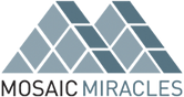 Mosaic Miracles logo and Decorative Tiling Art in Construction